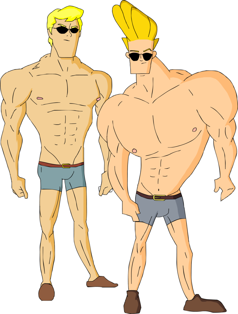 Scooby doo clipart muscular. Image fred and johnny