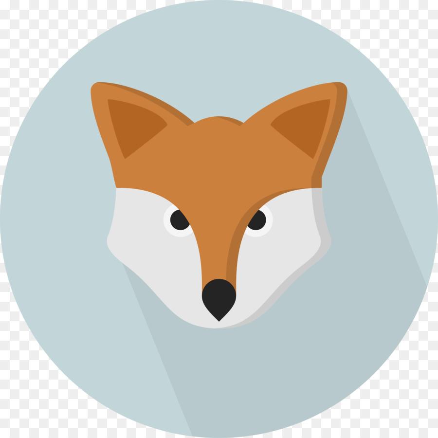 Nose clipart fox. Cartoon illustration transparent