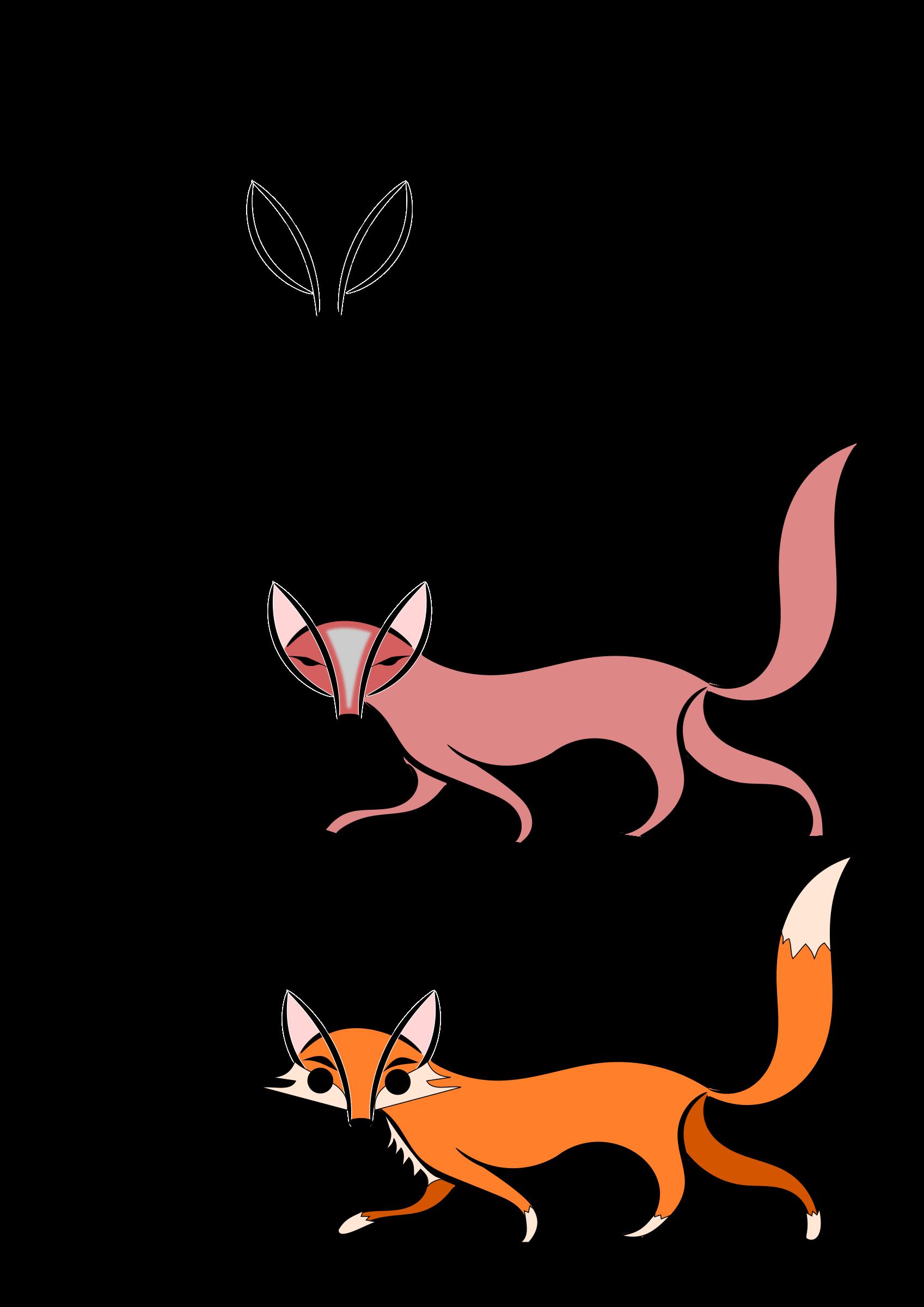 Nose clipart fox. Evolution big image png