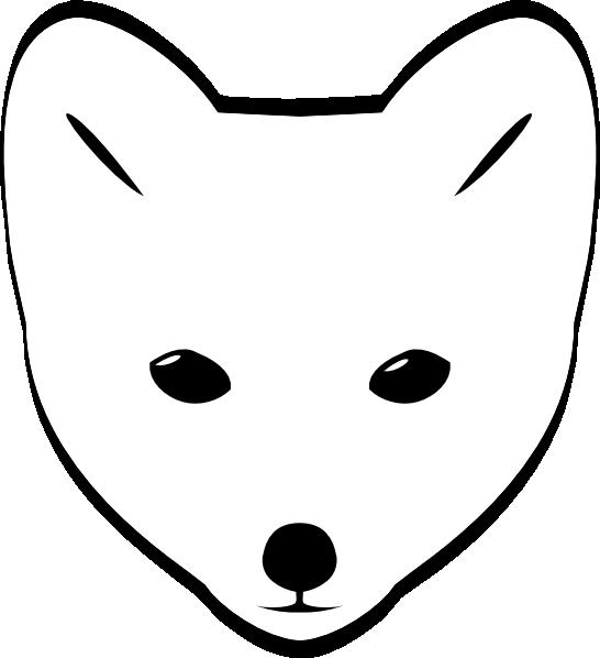 Male clipart animated. Fox face clip art
