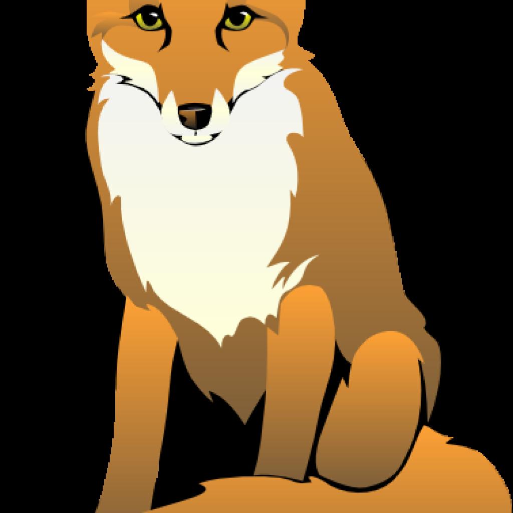 Fox clipart watercolor. Pencil hatenylo com pin