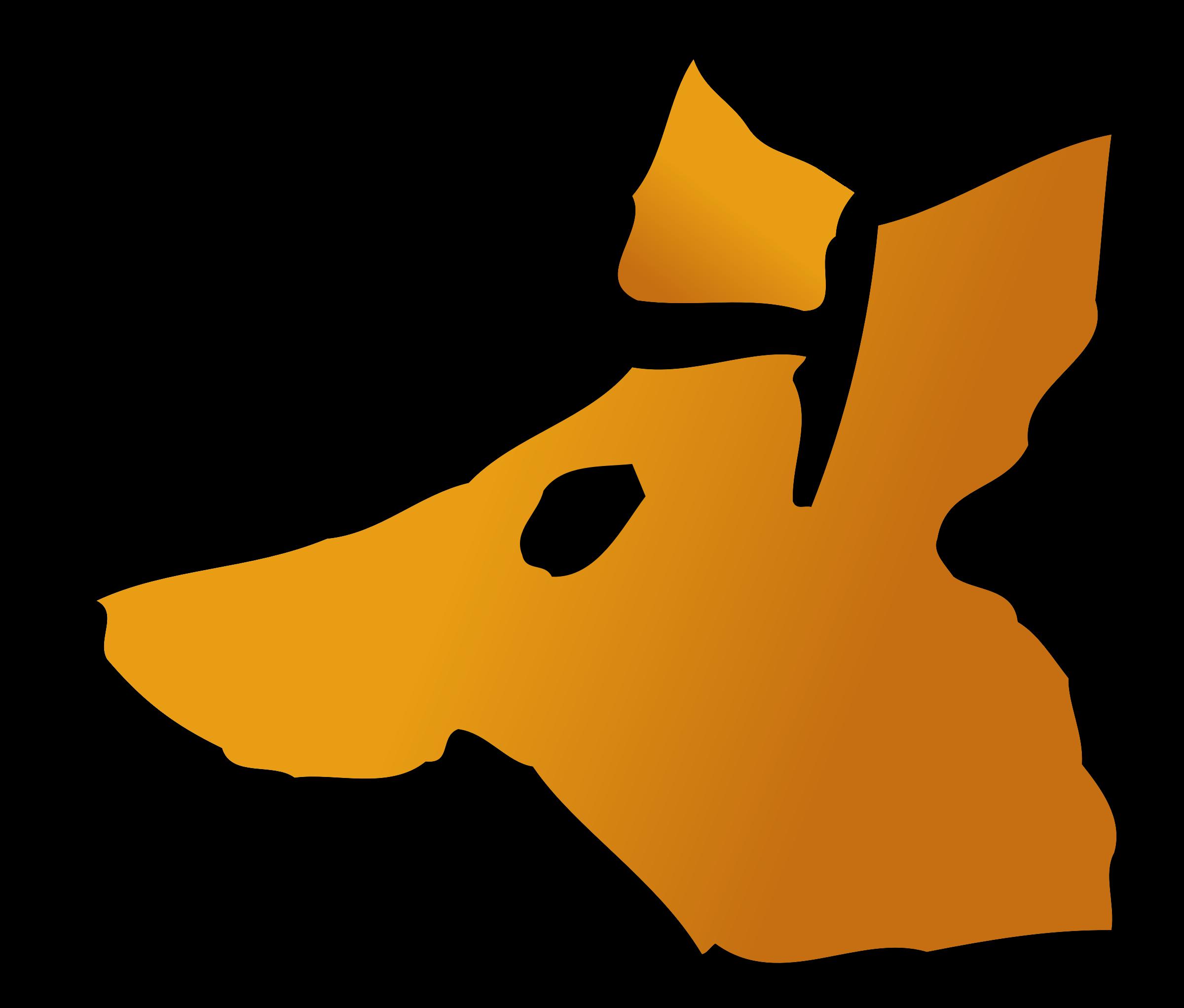 Fox clipart standing. Head at getdrawings com