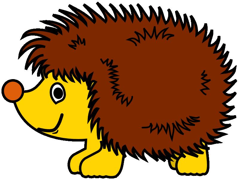 Hedgehog clipart hedgehod. Cute realistic