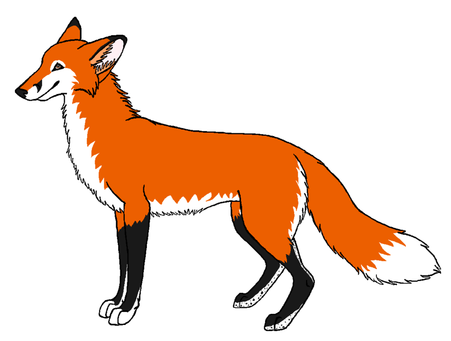 Free images download clip. Clipart fox red fox