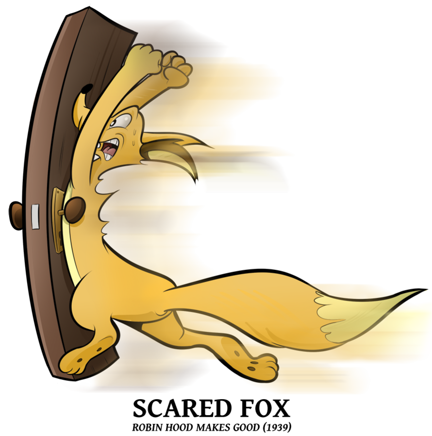 Dolphins clipart scared.  fox by boscoloandrea