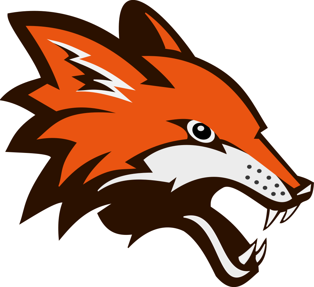 Clipart fox small fox. Onlinelabels clip art fighting