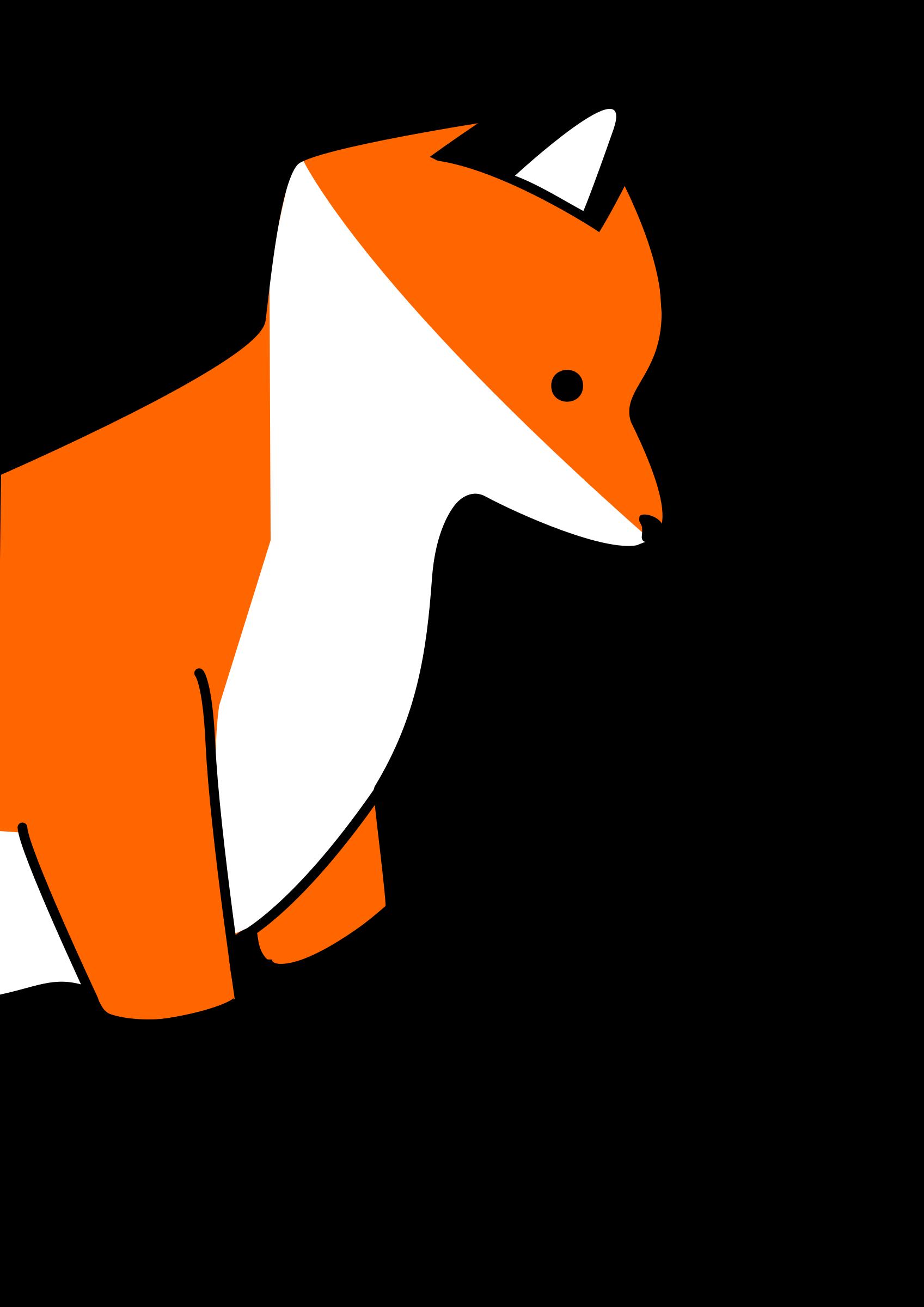 Stupid big image png. Clipart fox small fox