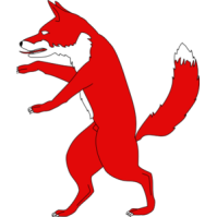Red panda free images. Fox clipart standing