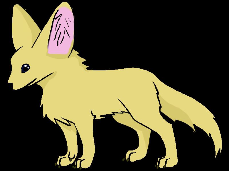 Clipart fox transparent background. Fennec png images free