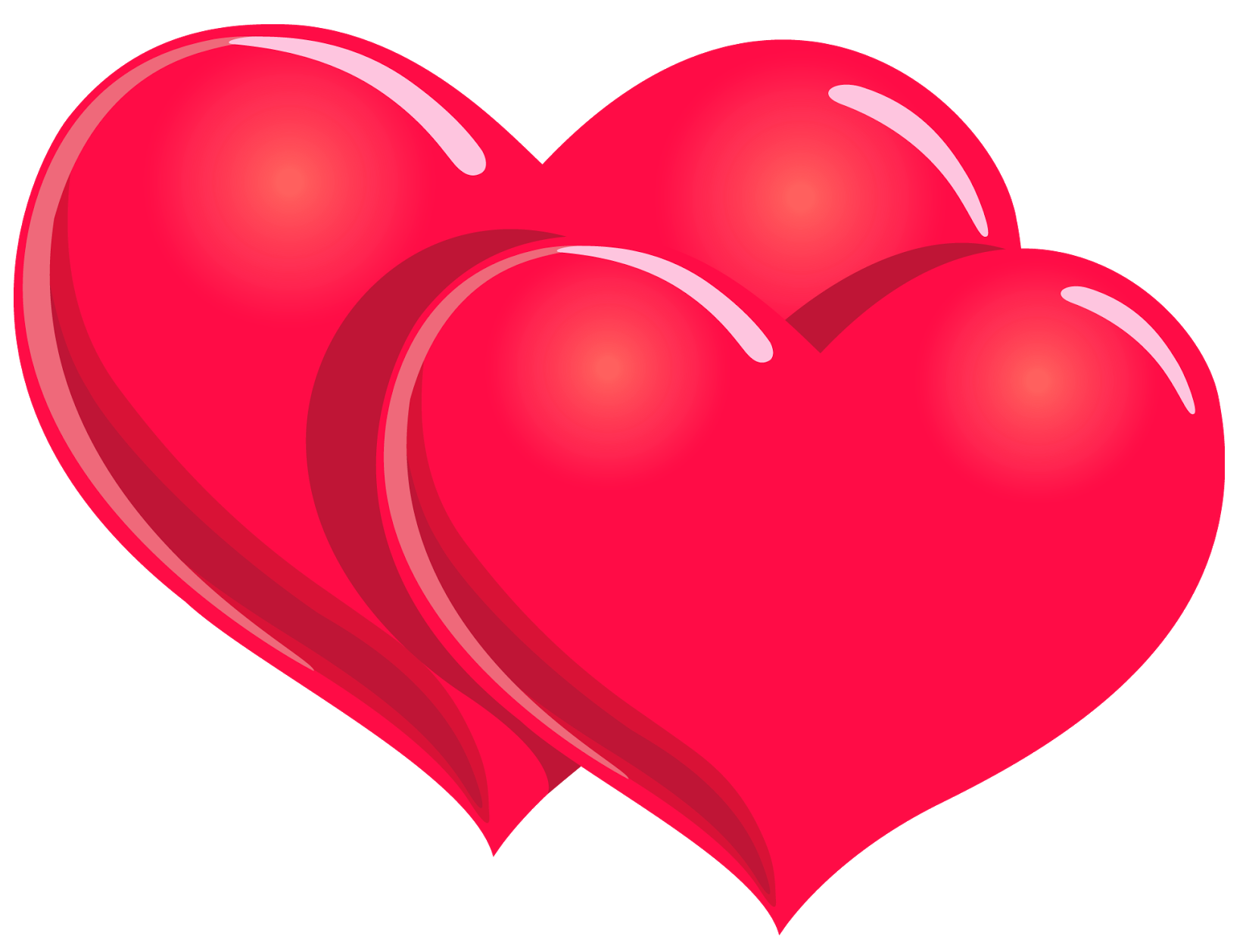 Valentines day hearts png