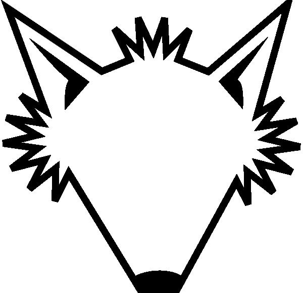Fox clipart outline. Head logo vector panda