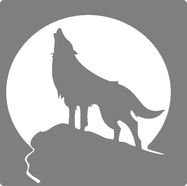 Silverfox image clip art. Fox clipart vector