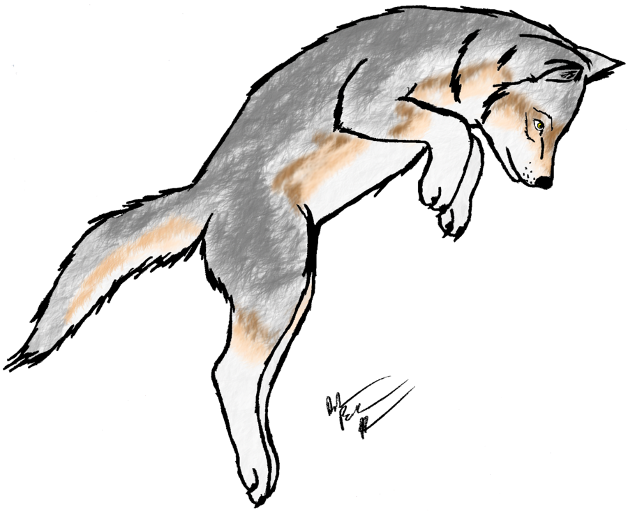 collection of dead. Wolves clipart wolf pup
