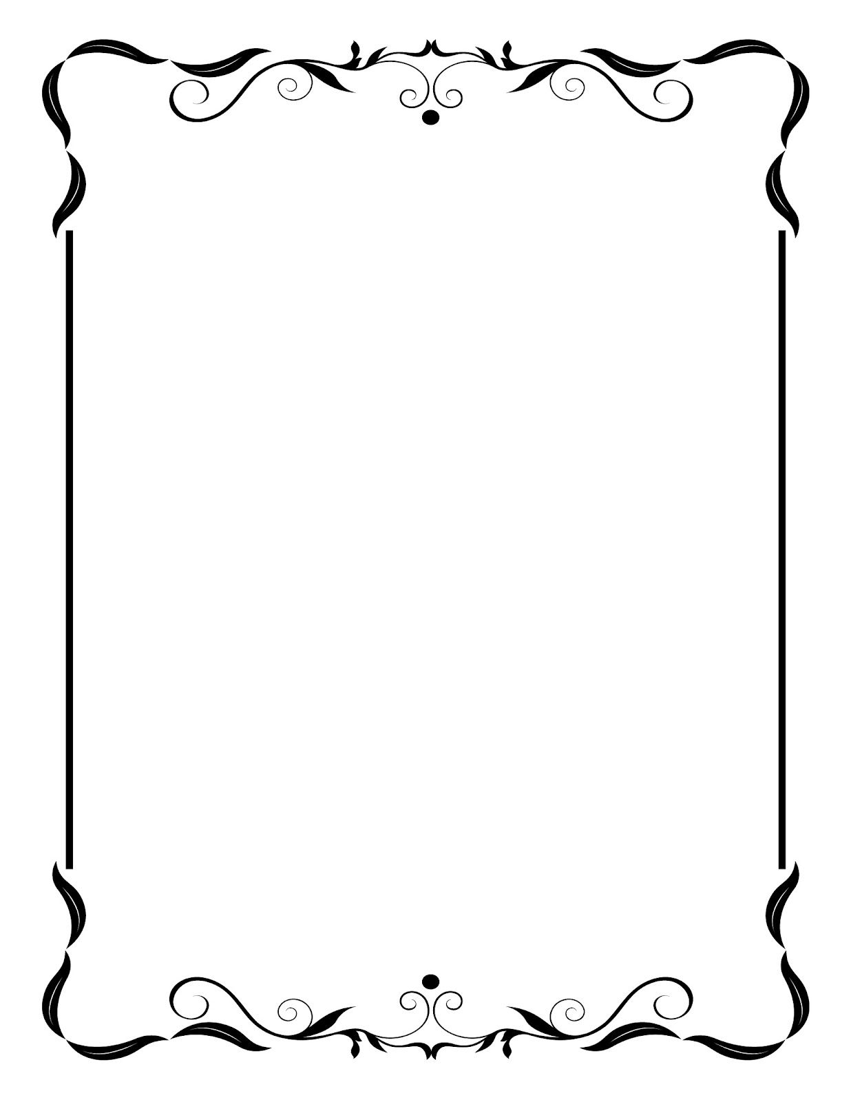 Clipart frame. I like these free