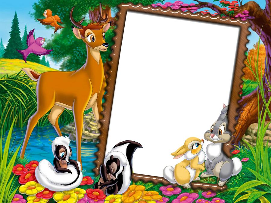 Frames clipart animal. Cute transparent kids photo