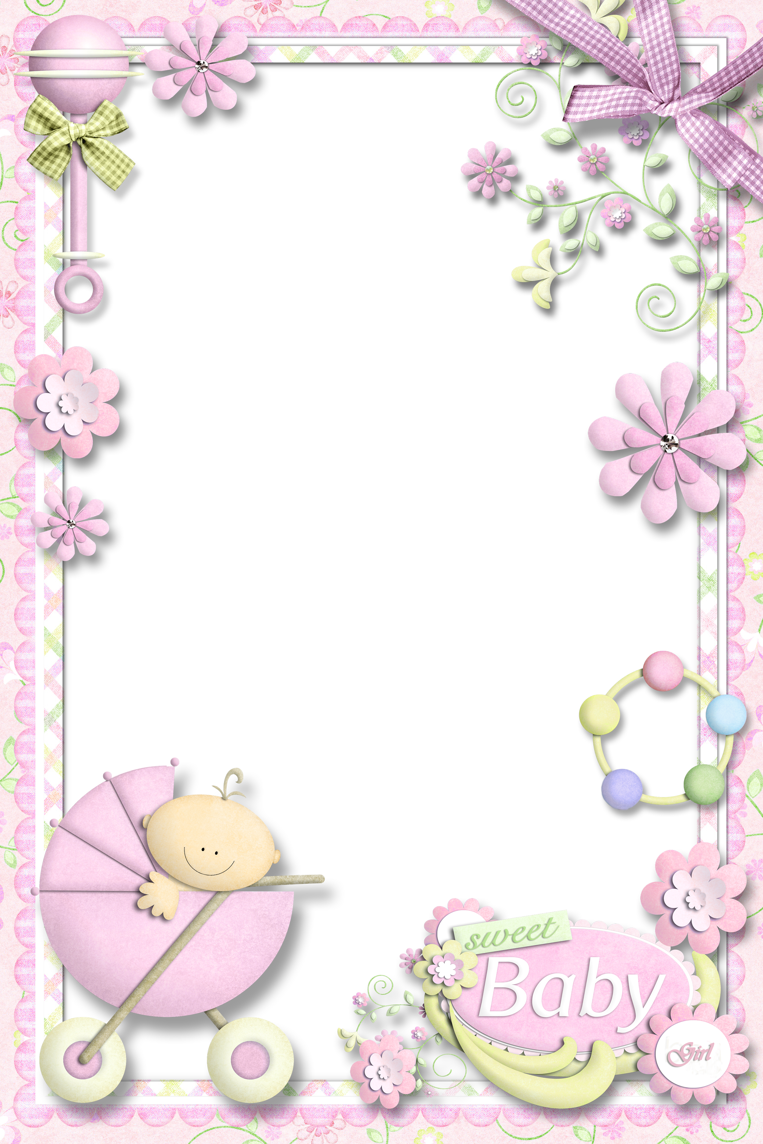 Clipart frame baby girl. Photo for gallery yopriceville