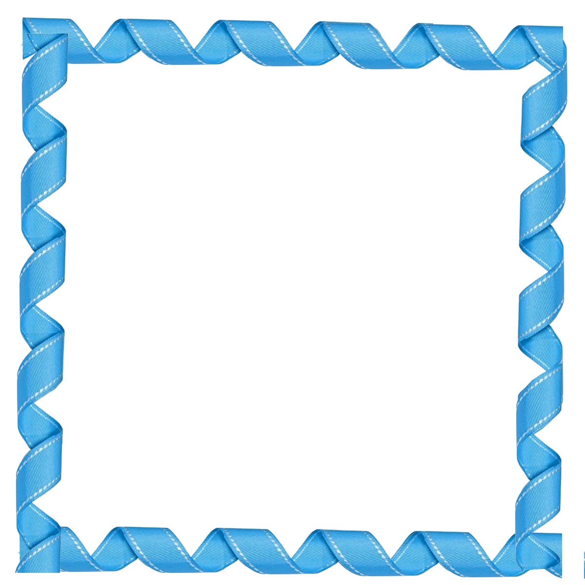 collection of square. Frames clipart blue