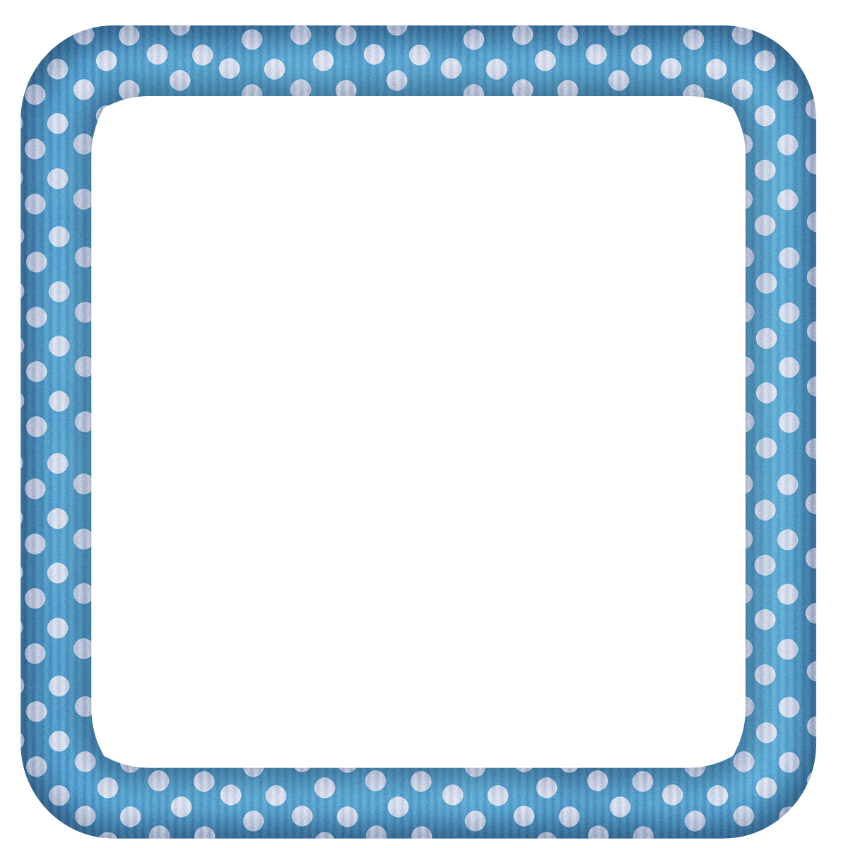 Blue transparent dotted photo. Mirror clipart large