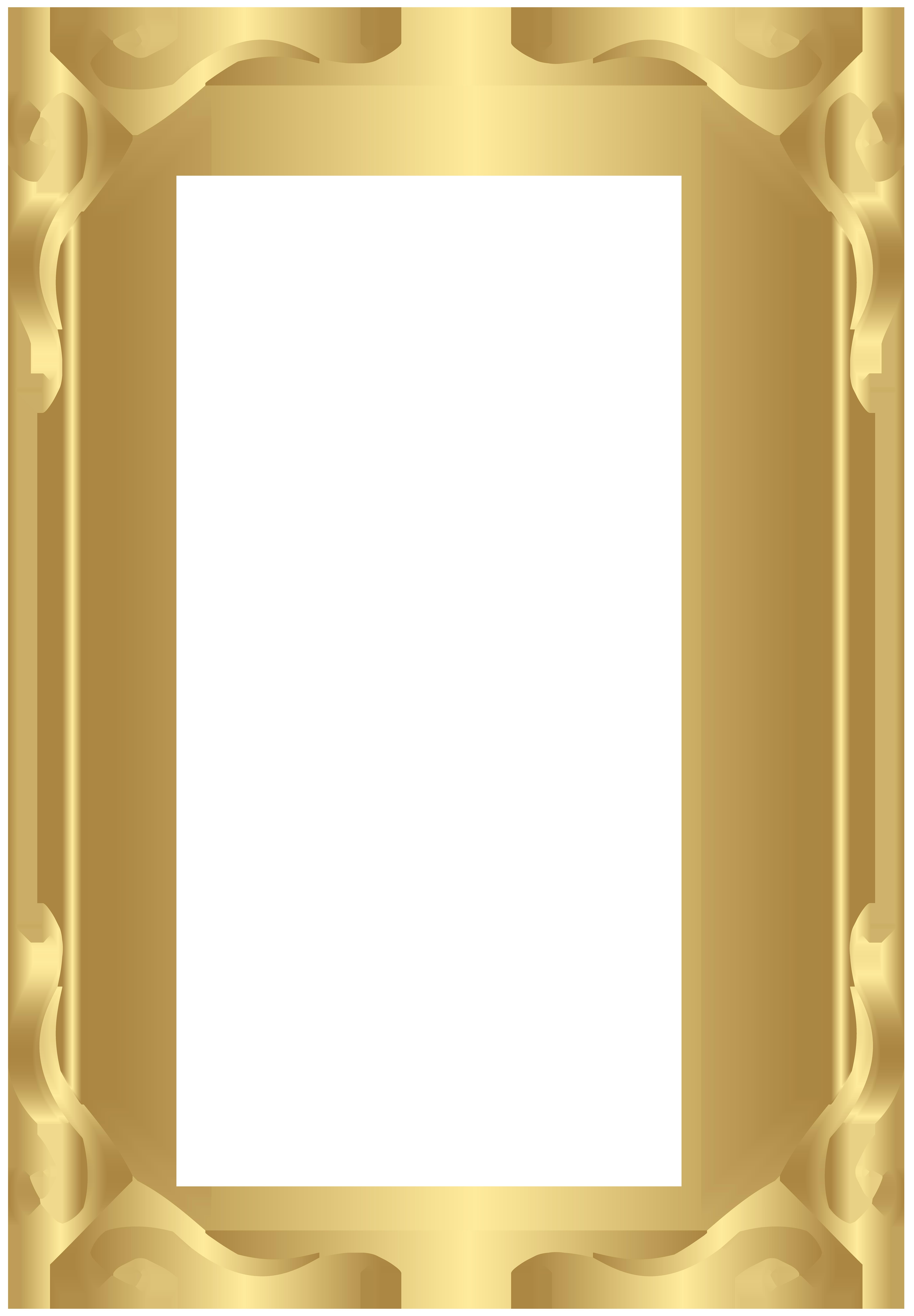 Frame transparent png. Border gold image gallery