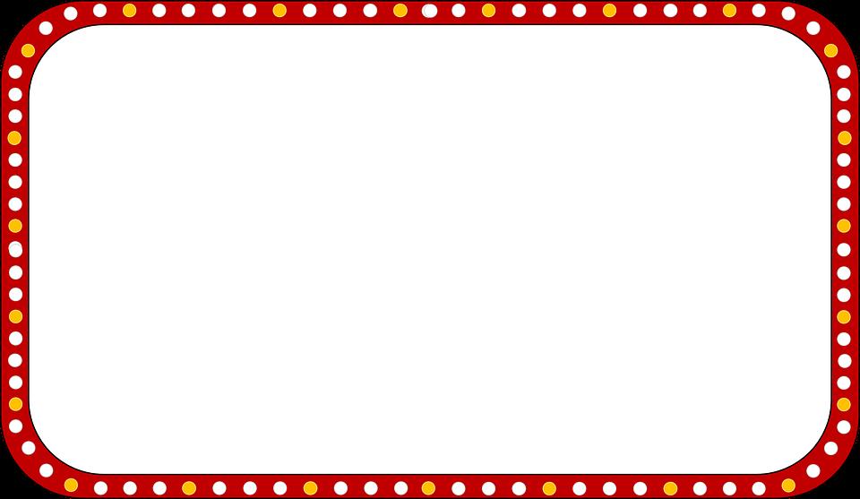 Carnival borders free download. Theatre clipart border