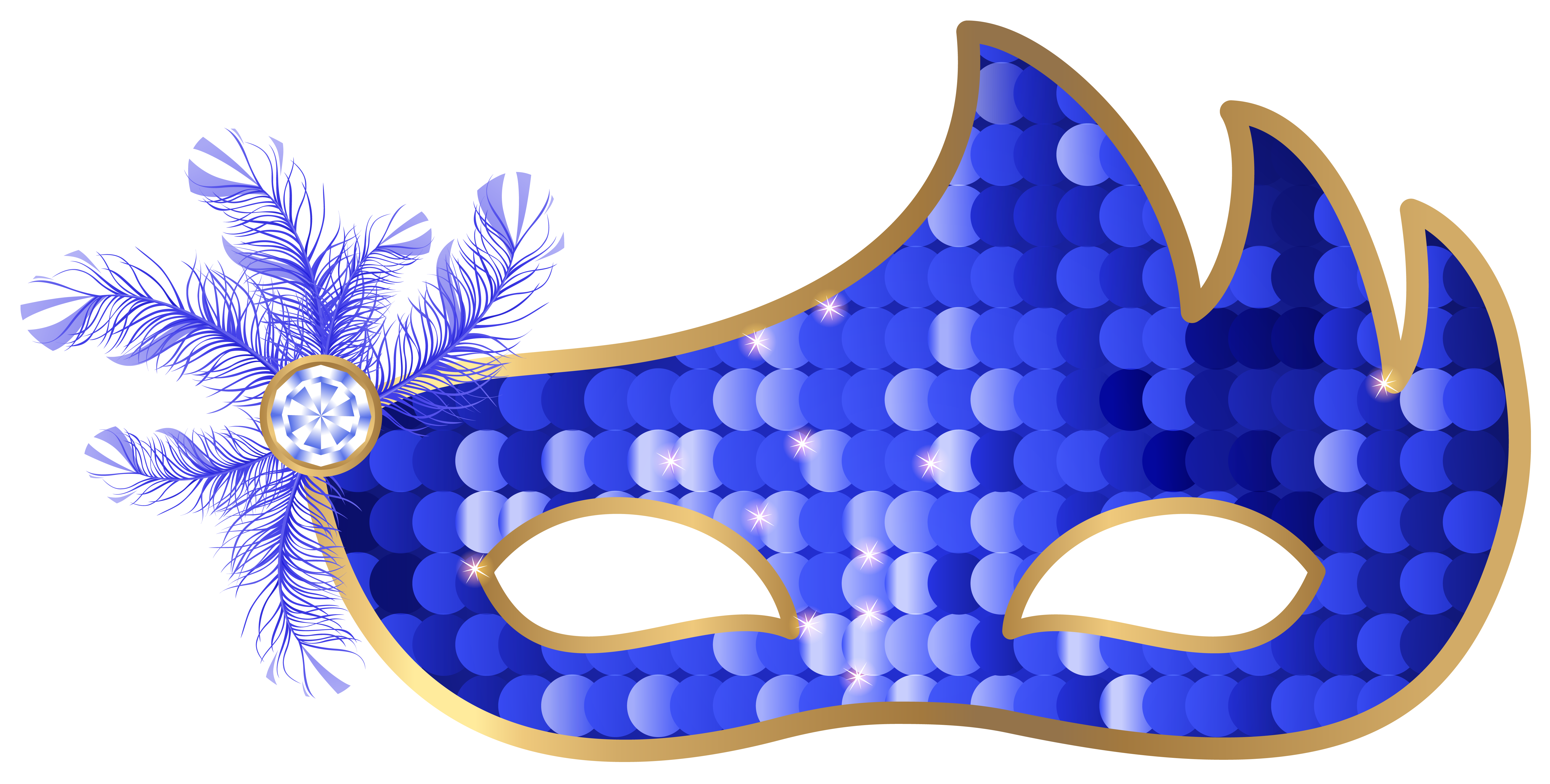 Blue mask png clip. Clipart free carnival