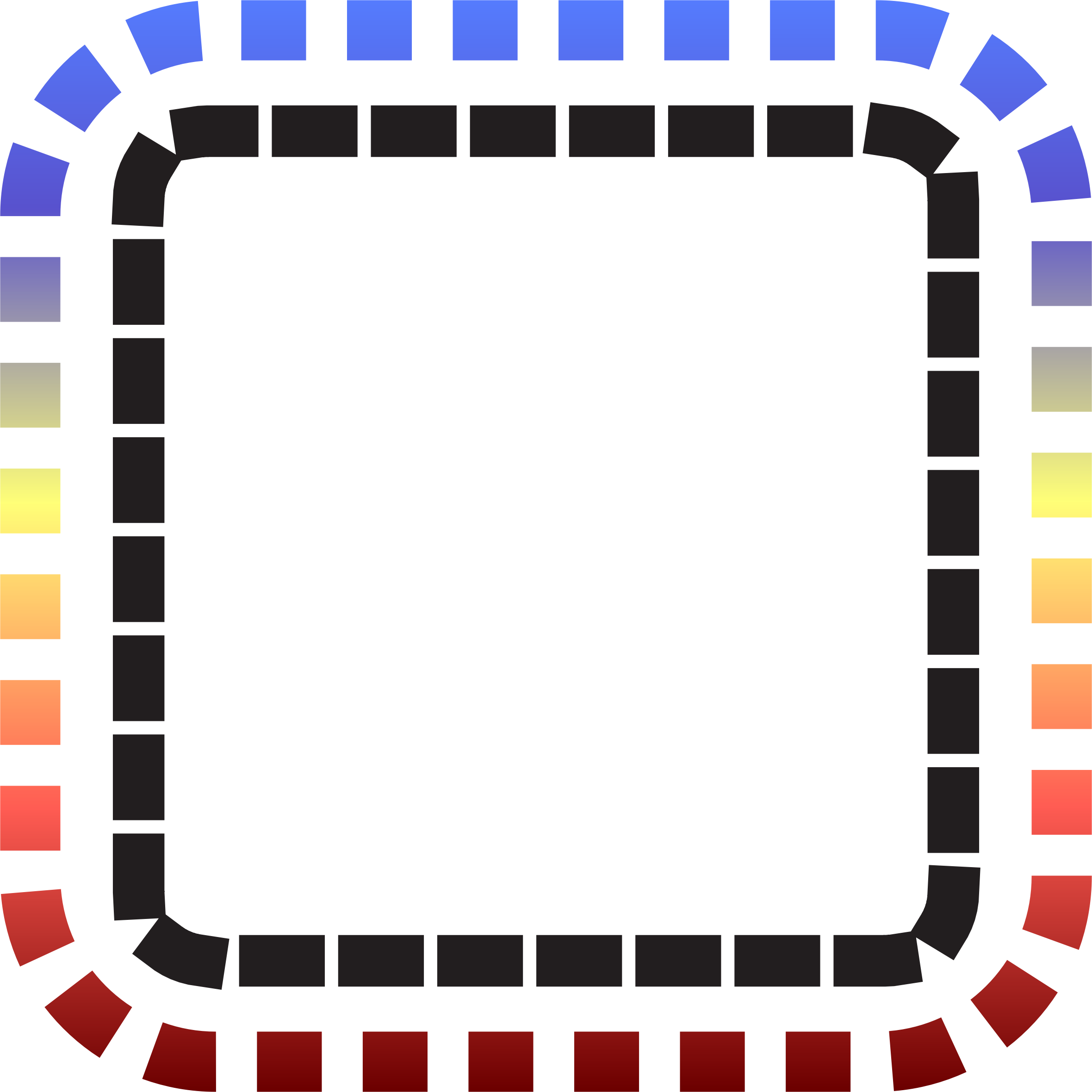 Frame big image png. Square clipart colorful square