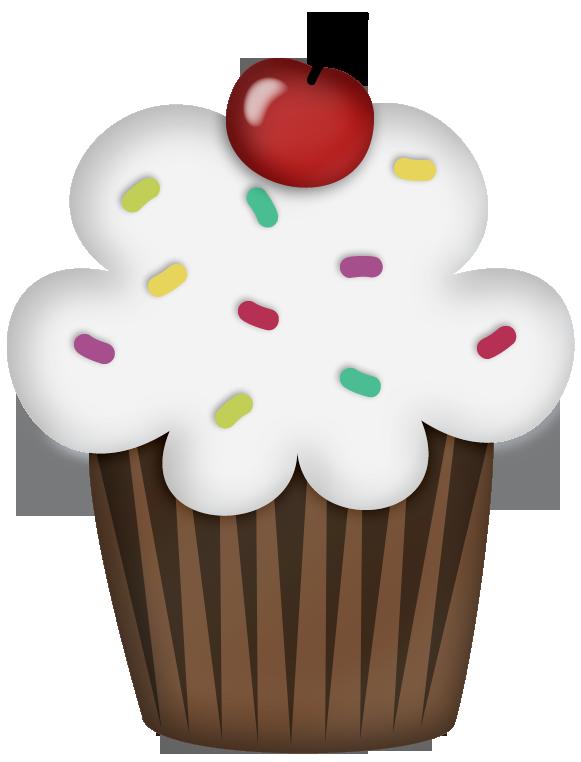 Clipart frame cupcake. Scrap cumplea os carmen