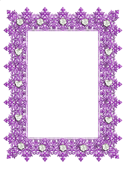 Diamonds clipart frame. Transparent purple with