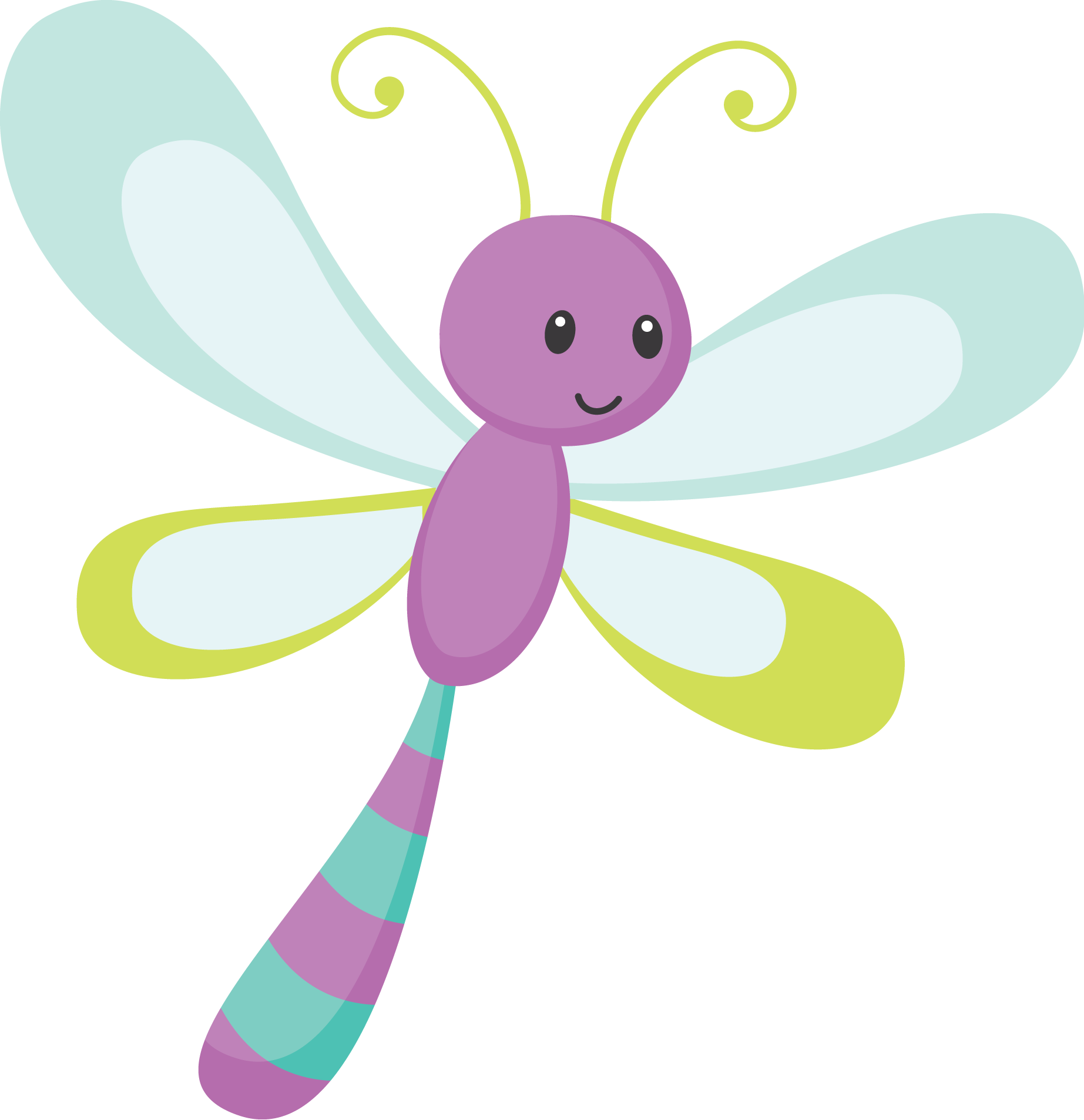 May clipart dragonfly.  ugs bichos pinterest