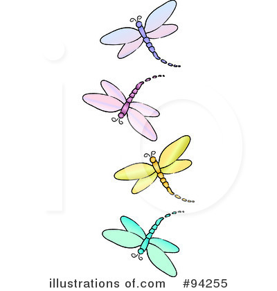 Pollinator border cliparts download. Dragonfly clipart royalty free