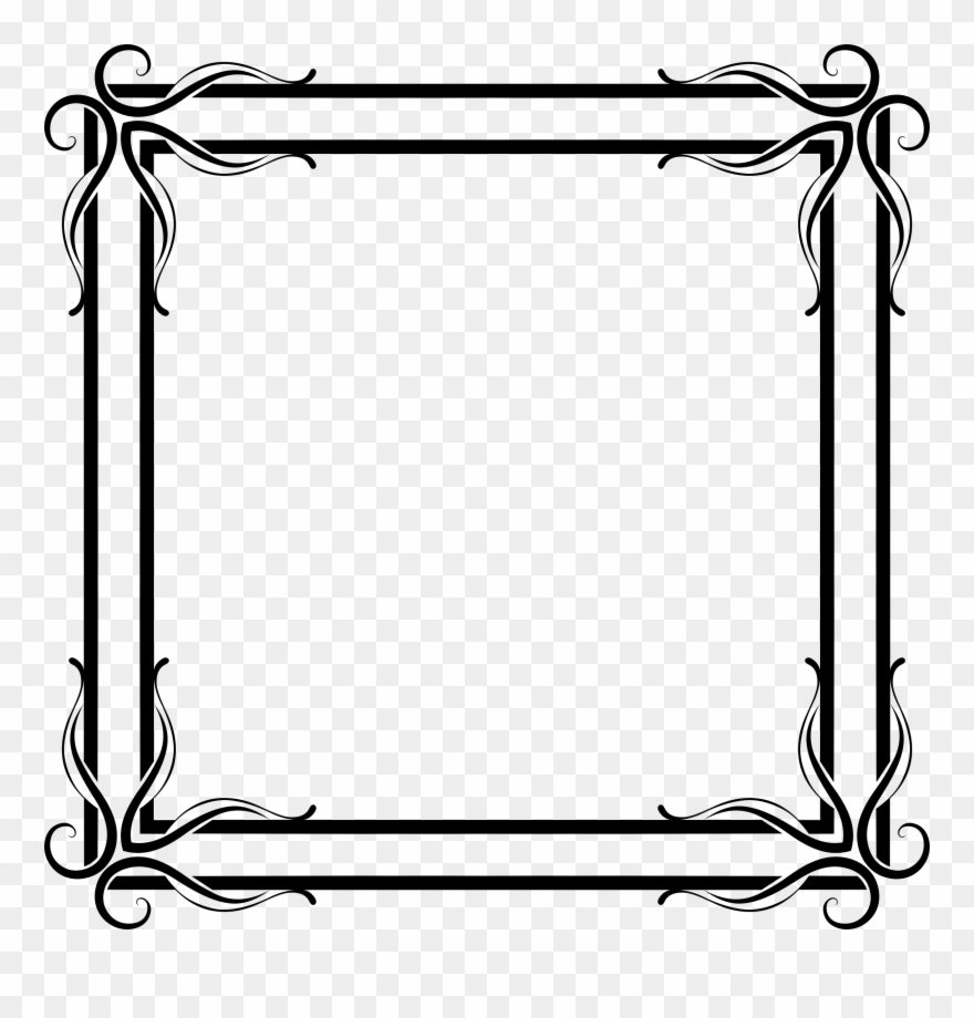 Picture frames the chamber. Fairies clipart frame