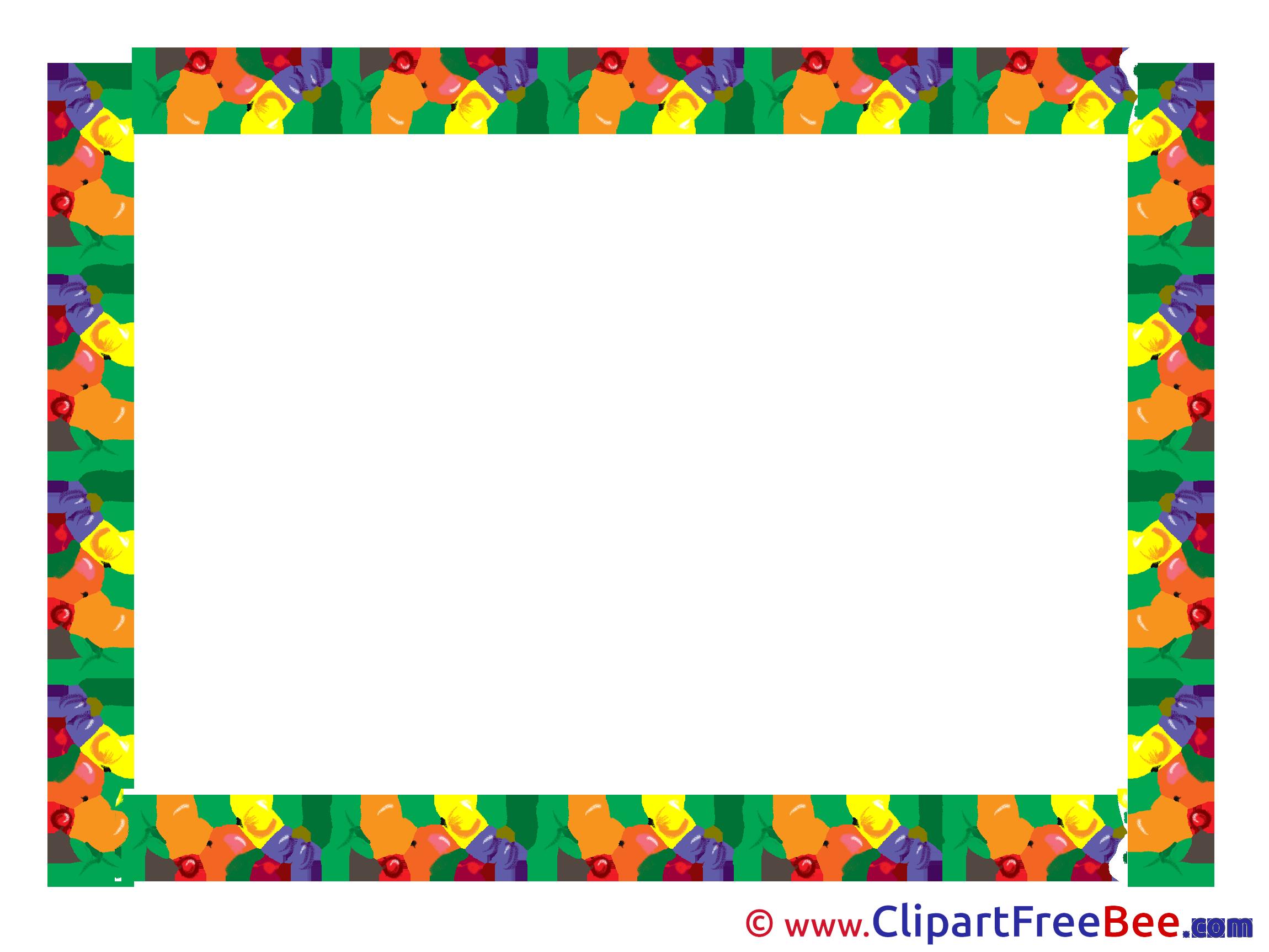 Fruits frames free images. Clipart fruit frame