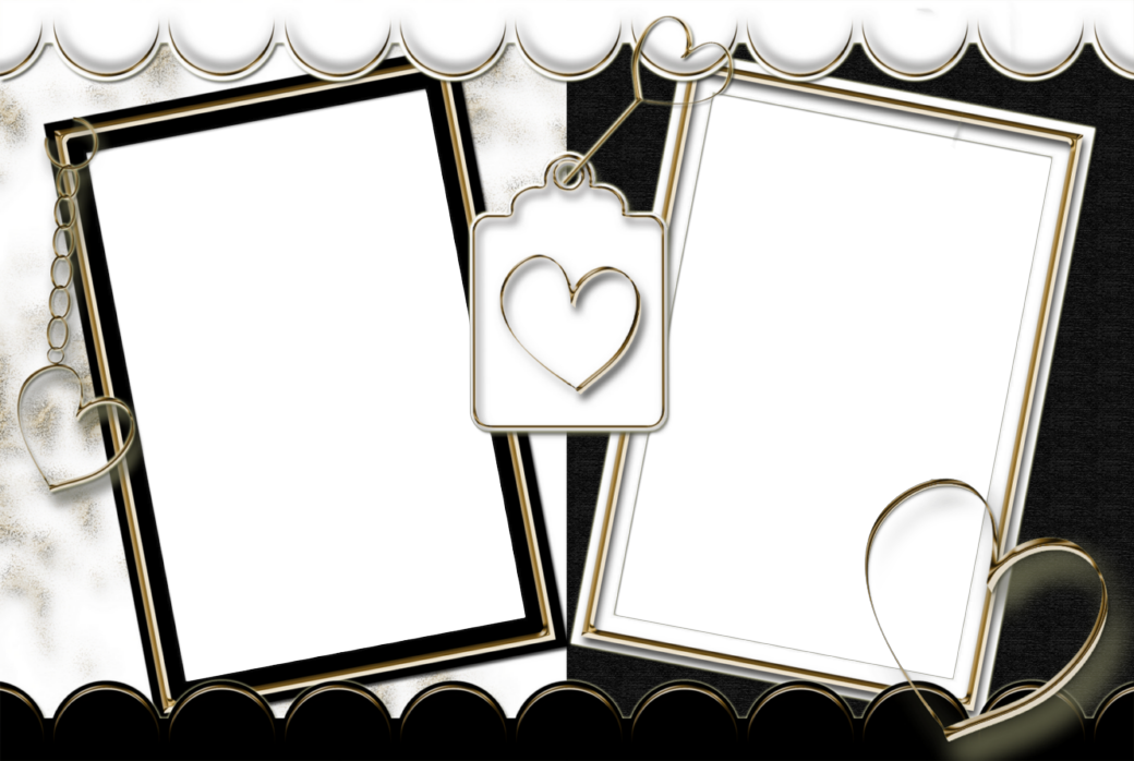 Home love we heart. Funeral clipart picture frame