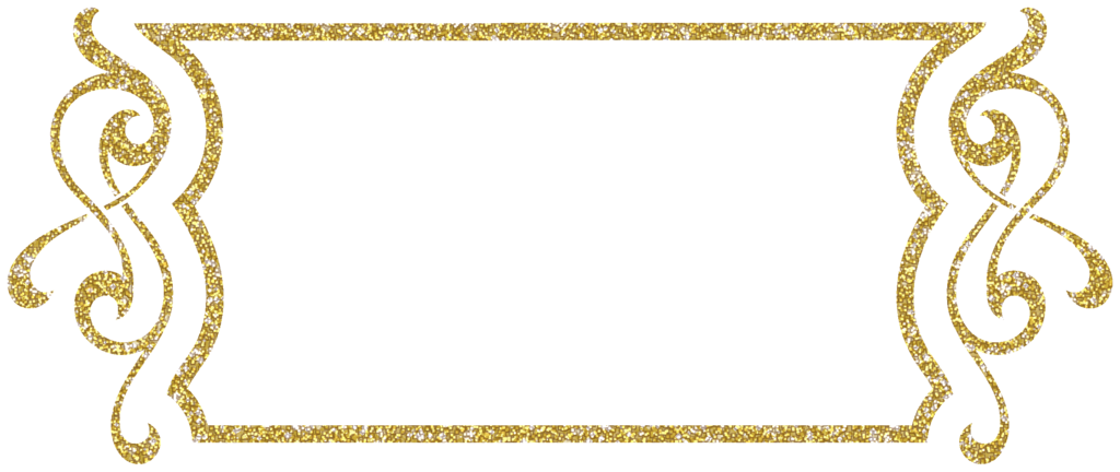 Frame clipart gold glitter. Free scrapbook craft hobbies