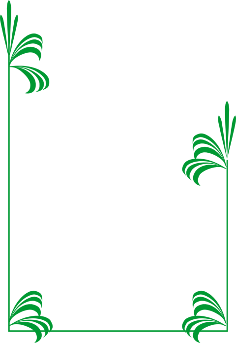 Border png pic free. Frame clipart green