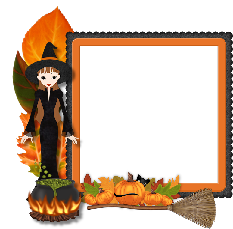 Halloween frame png. Best free image icons