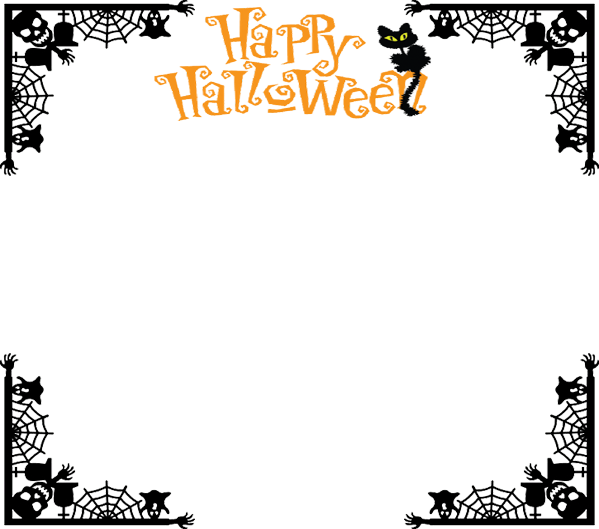 Frame by metalocalypse on. Halloween border png
