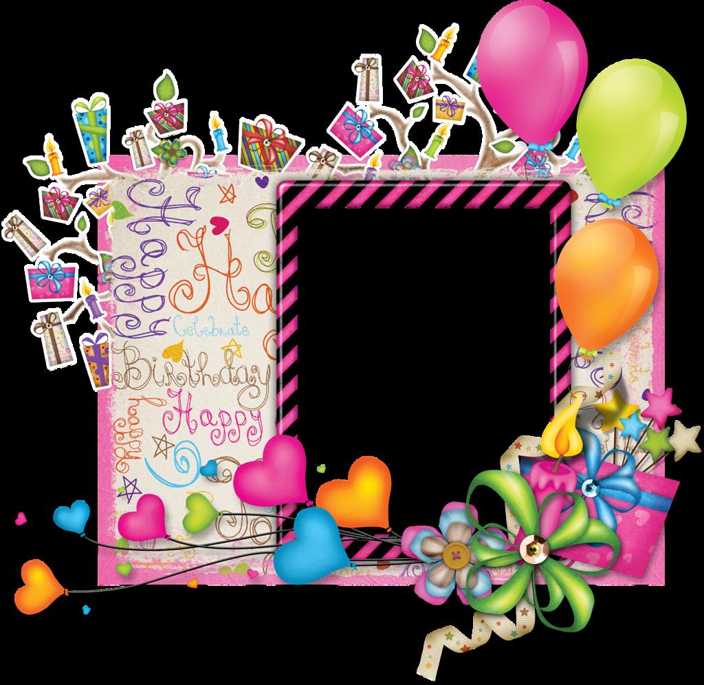 Anelia celebration clframe png. Clipart frame happy birthday