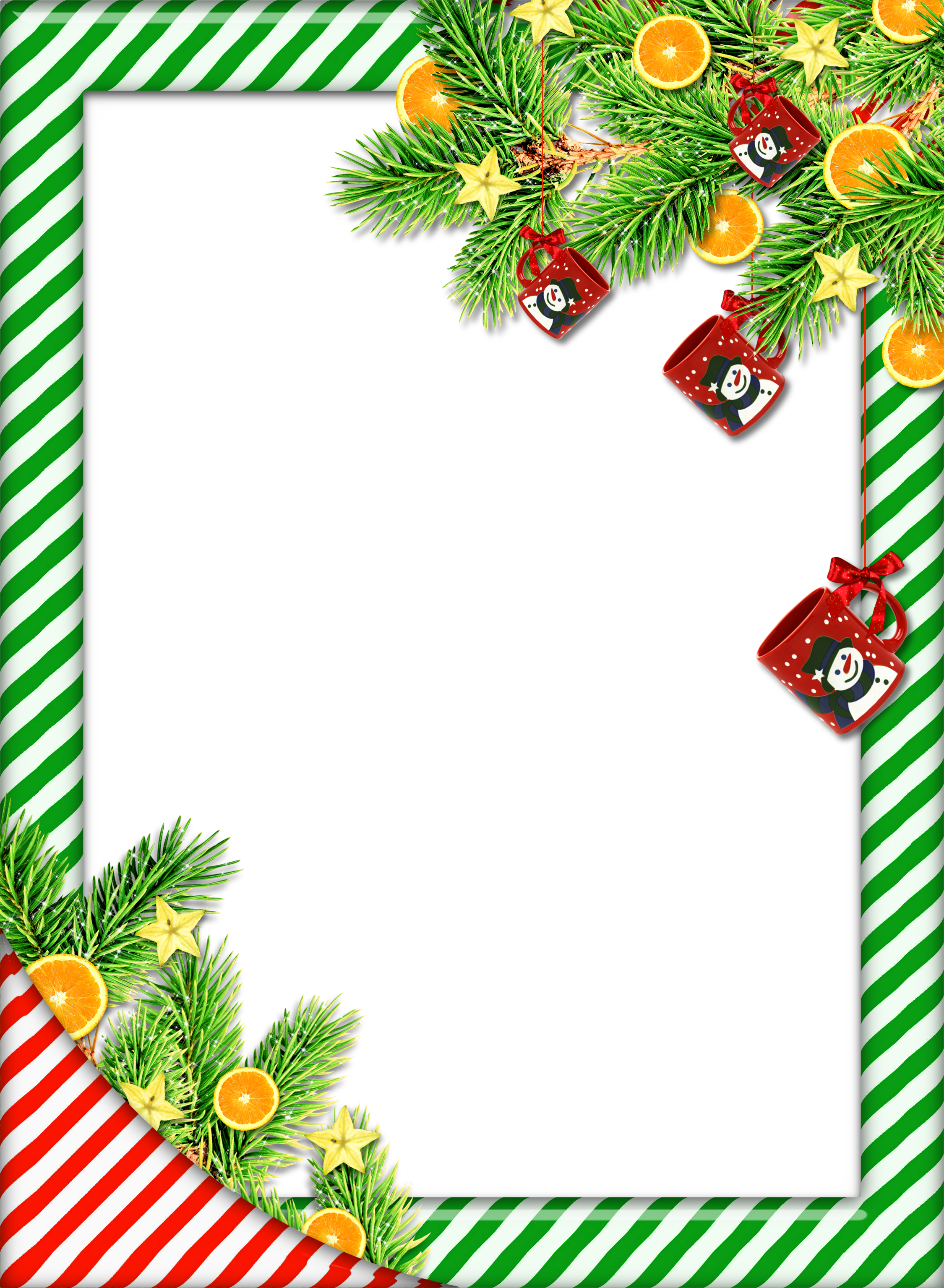 Frame clipart holiday. Christmas mint png photo