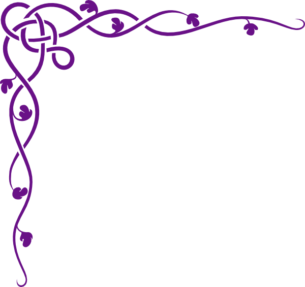 Frame clipart lavender. Free cliparts download clip