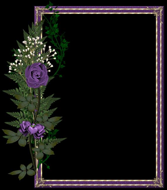 Clipart frames lavender. Beautiful transparent purple photo