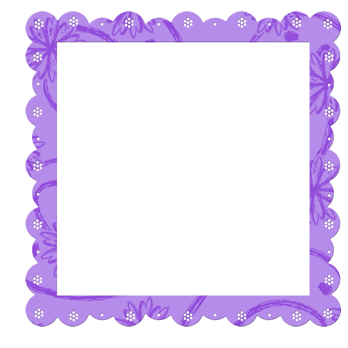 Lavender clipart frame. Purple transparent with flowers