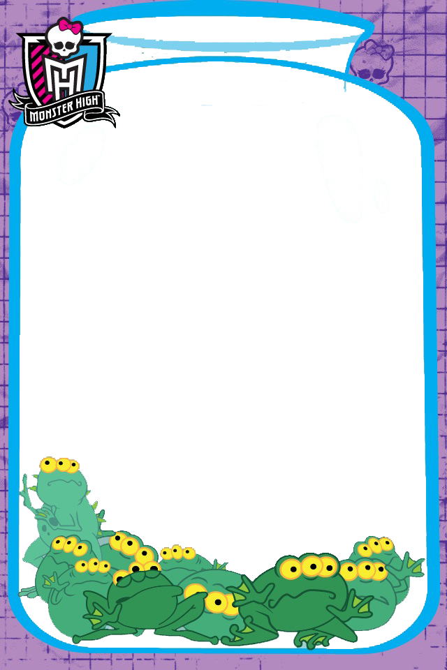 High picture by shaibrooklyn. Frame clipart monster
