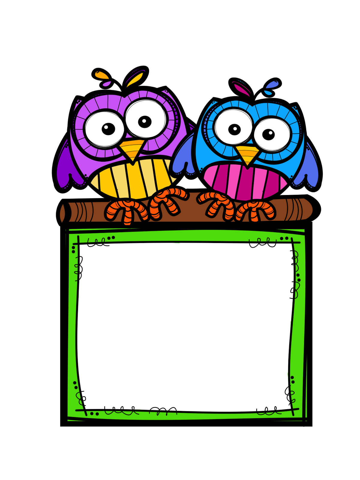 Frames clipart owl.  collection of frame