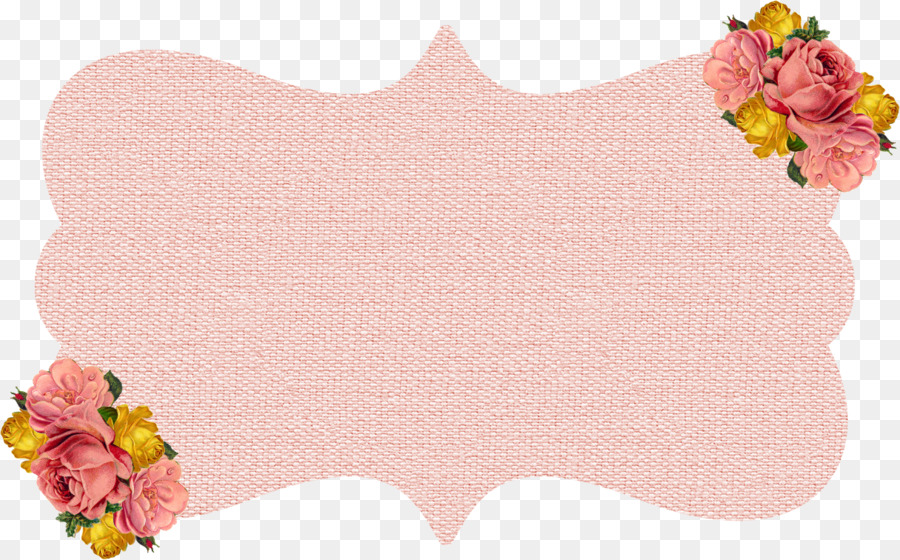 Clipart frames peach. Flowers background flower