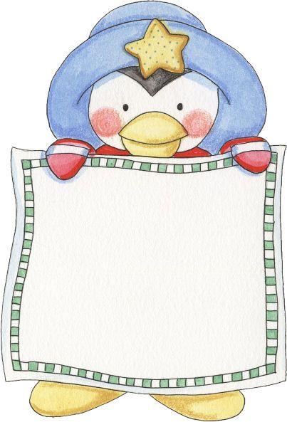 Imagens pinguins luciana dias. Clipart penguin frame