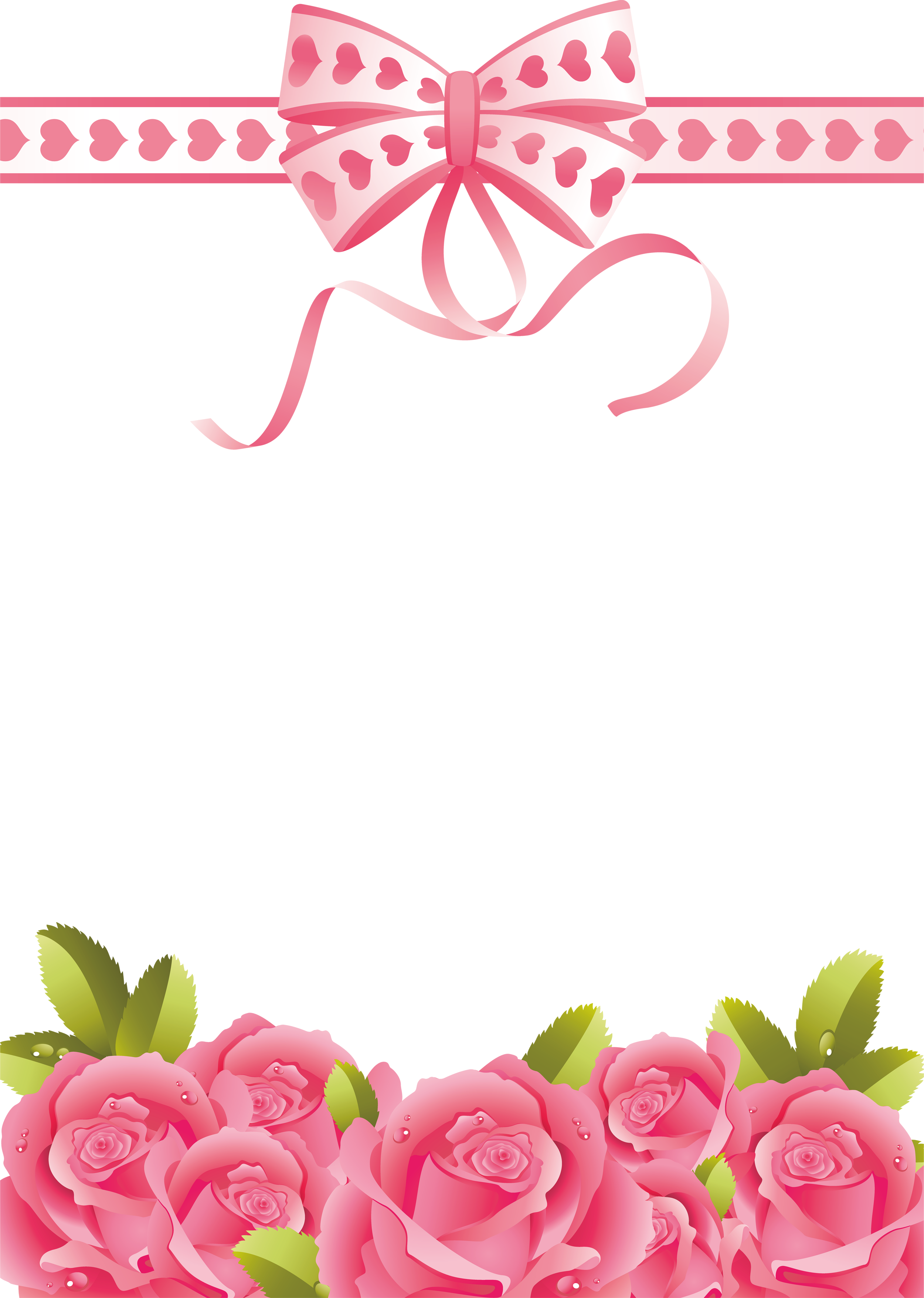 Clipart frames pink rose. Roses transparent png photo