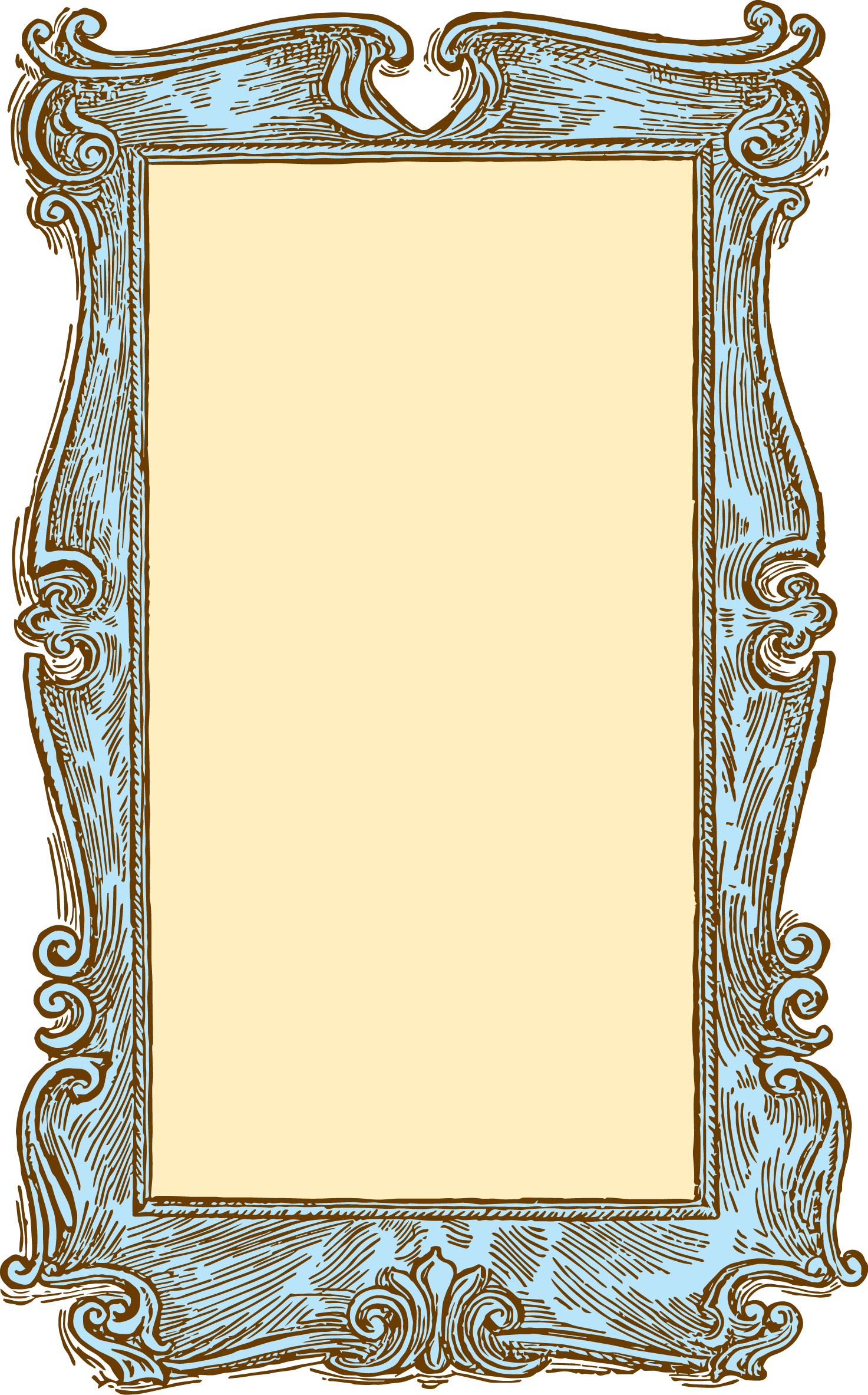 Clipart free vintage. Old wood frame hanslodge