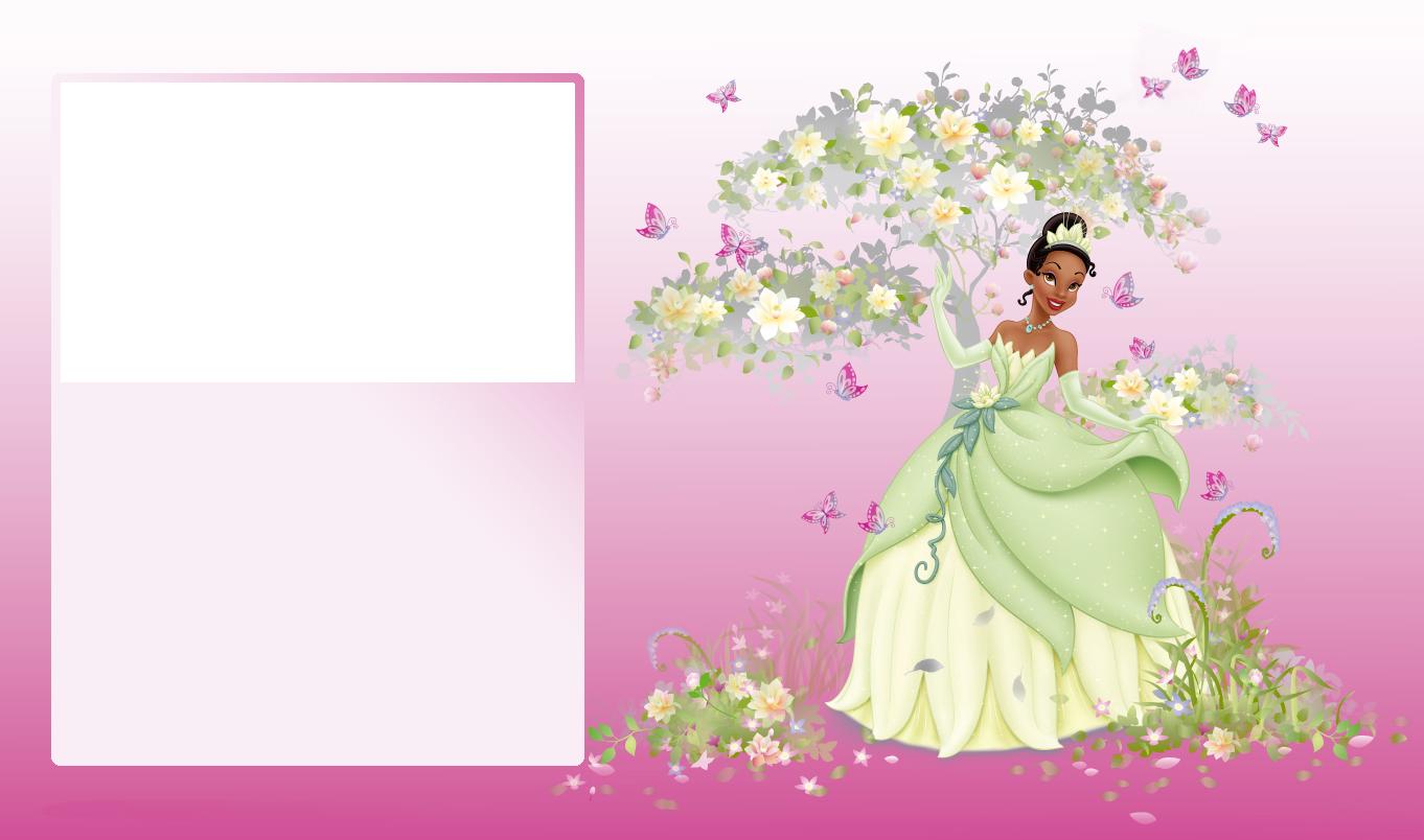 Transparent pink photo frame. Clipart frames princess