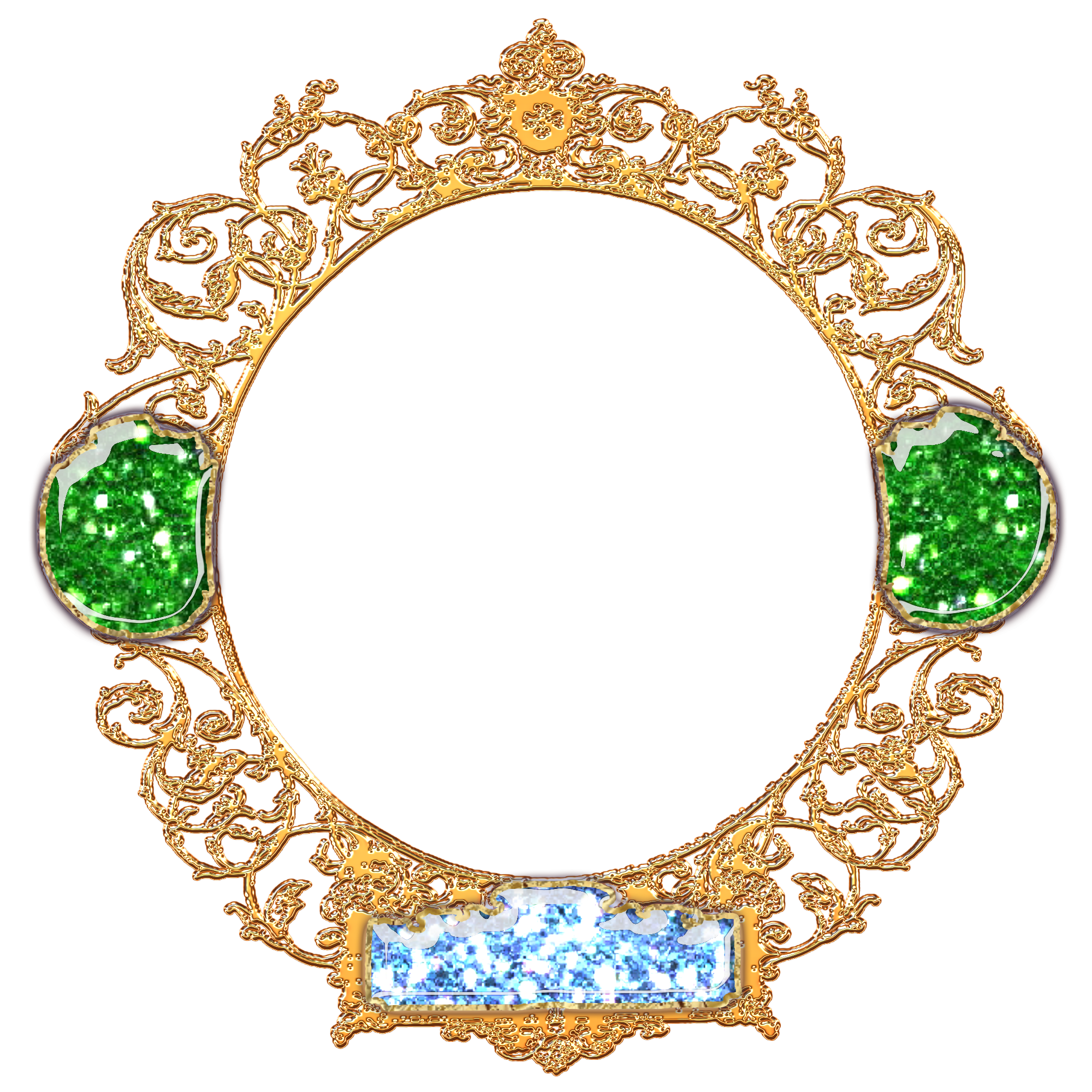 Golden decorated by gautamdas. Royal frame png